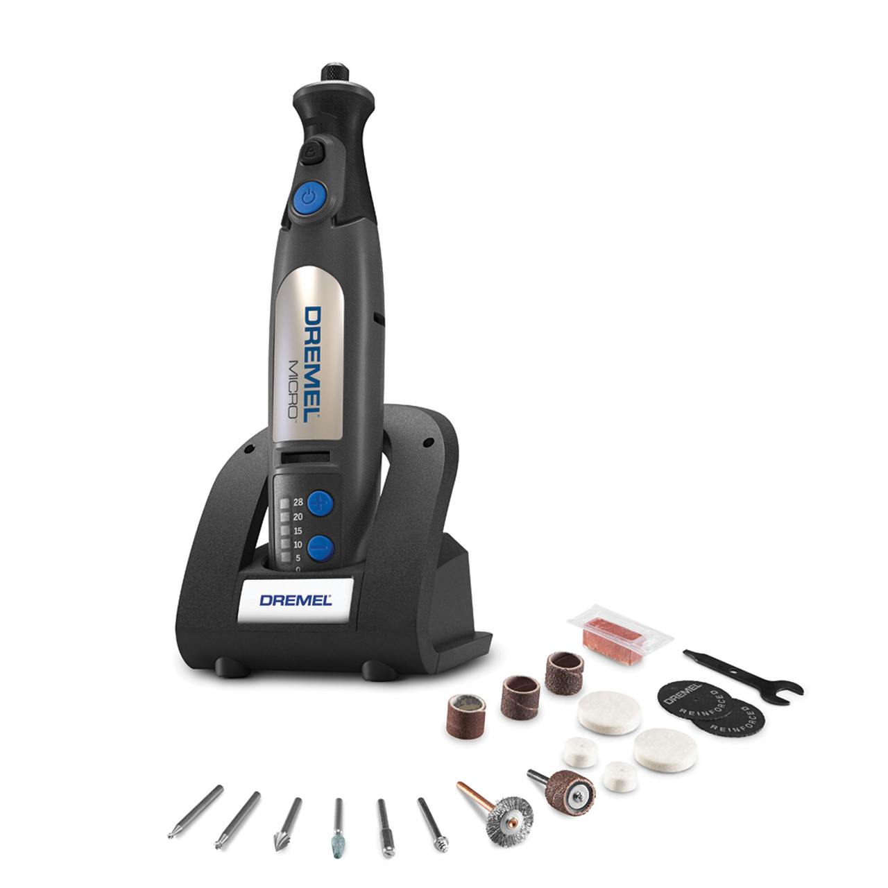 imagenMINITORNO DREMEL 7.2V INAL 8050N 18 ACCESORIOS